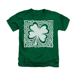 Image for Saint Patricks Day Kids T-Shirt - Celtic Clover