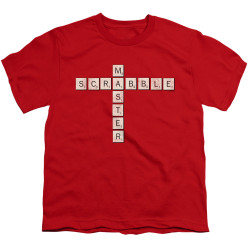 Image for Scrabble Youth T-Shirt - Scrabble Master