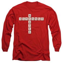 Image for Scrabble Long Sleeve T-Shirt - Scrabble Master