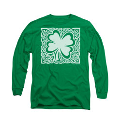 Image for Saint Patricks Day Long Sleeve T-Shirt - Celtic Clover