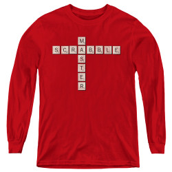 Image for Scrabble Youth Long Sleeve T-Shirt - Scrabble Master