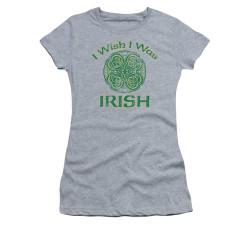 Image for Saint Patricks Day Girls T-Shirt - Irish Wish
