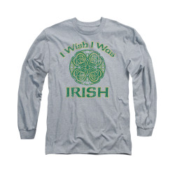 Image for Saint Patricks Day Long Sleeve T-Shirt - Irish Wish