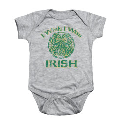 Image for Saint Patricks Day Baby Creeper - Irish Wish