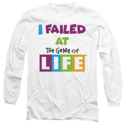 Image for The Game of Life Long Sleeve T-Shirt - The Game