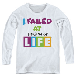 Image for The Game of Life Women's Long Sleeve T-Shirt - The Game