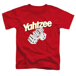 Image for Yahtzee Toddler T-Shirt - Tumbling Dice