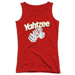 Image for Yahtzee Girls Tank Top - Tumbling Dice