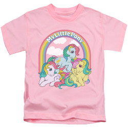 Image for My Little Pony Kids T-Shirt - Under the Rainbow