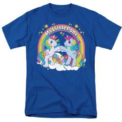 Image for My Little Pony T-Shirt - Retro Unicorn Fist Bump