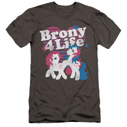Image for My Little Pony Premium Canvas Premium Shirt - Retro Brony for Life