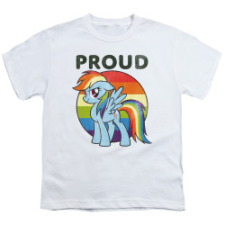 Image for My Little Pony Youth T-Shirt - Proud