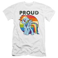 Image for My Little Pony Premium Canvas Premium Shirt - Proud