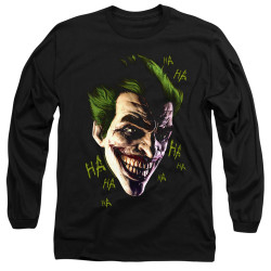 Image for Batman Long Sleeve T-Shirt - Joker Grim