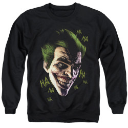 Image for Batman Crewneck - Joker Grim