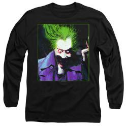 Image for Batman Long Sleeve T-Shirt - Joker Arkham Asylum