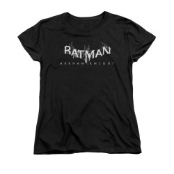 Image for Batman Arkham Knight Woman's T-Shirt - Splinter Logo