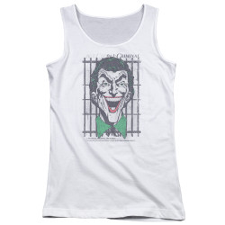 Image for Batman Girls Tank Top - Joker Criminal
