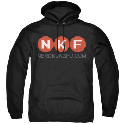 Image for Nerd Kung Fu Hoodie - Logo