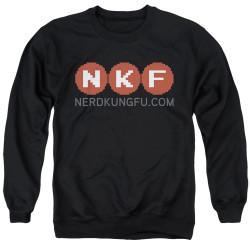 Image for Nerd Kung Fu Crewneck - Logo