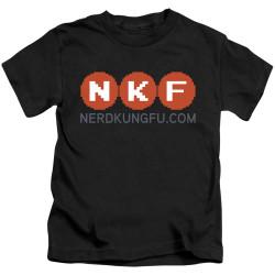 Image for Nerd Kung Fu Kids T-Shirt - Logo