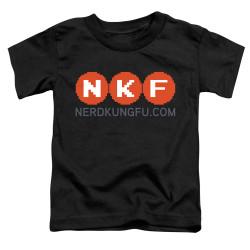 Image for Nerd Kung Fu Toddler T-Shirt - Logo