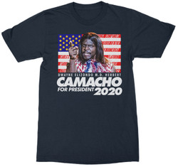 Image for Idiocracy President Camacho in 2020 T-Shirt