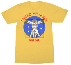 Image for NASA I Need My Space T-Shirt