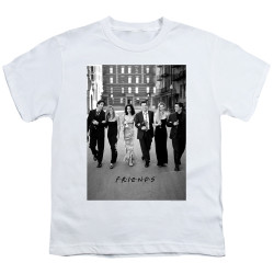 Image for Friends Youth T-Shirt - Walk the Streets