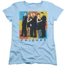 Image for Friends Womans T-Shirt - Color Block of Friends