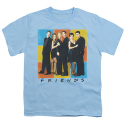 Image for Friends Youth T-Shirt - Color Block of Friends