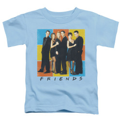 Image for Friends Toddler T-Shirt - Color Block of Friends