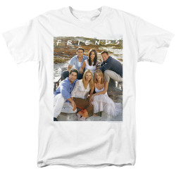 Image for Friends T-Shirt - Life's a Beach