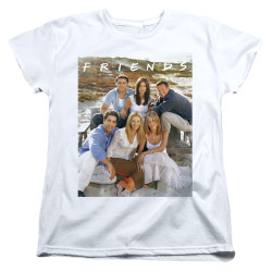 Image for Friends Womans T-Shirt - Life's a Beach