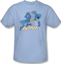 Image Closeup for Batman T-Shirt - Running Retro