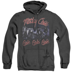 Image for Motley Crue Heather Hoodie - Girls