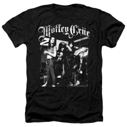 Image for Motley Crue Heather T-Shirt - Band Photo