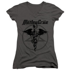Image for Motley Crue Girls V Neck T-Shirt - Dr. Devil