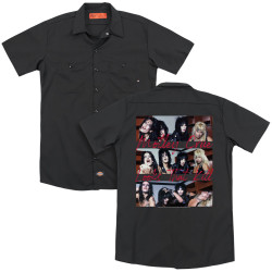 Image for Motley Crue Dickies Work Shirt - Looks that Kill