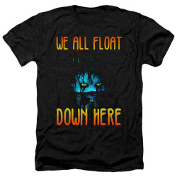 Image for It Heather T-Shirt - We All Float Down Here