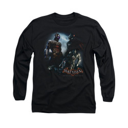 Image for Batman Arkham Knight Long Sleeve T-Shirt - Face Off