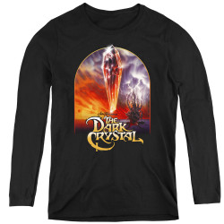 Image for The Dark Crystal Women's Long Sleeve T-Shirt - Crystal Poster