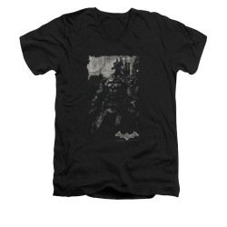 Image for Batman Arkham Knight V-Neck T-Shirt Bat Brood