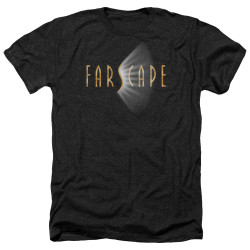 Image for Farscape Heather T-Shirt - Logo