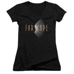 Image for Farscape Girls V Neck - Logo