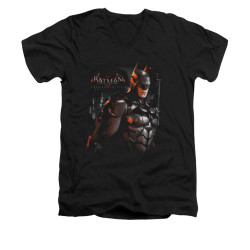 Image for Batman Arkham Knight V-Neck T-Shirt Dark Knight