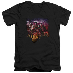 Image for Farscape V Neck T-Shirt - Graphic Collage