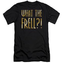 Image for Farscape Premium Canvas Premium Shirt - What the Frell