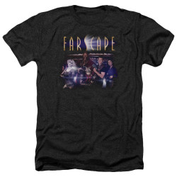Image for Farscape Heather T-Shirt - Flarescape