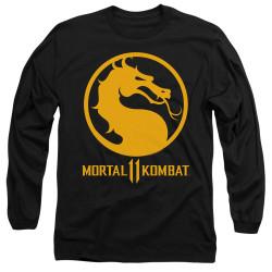 Image for Mortal Kombat XI Long Sleeve T-Shirt - Dragon Logo